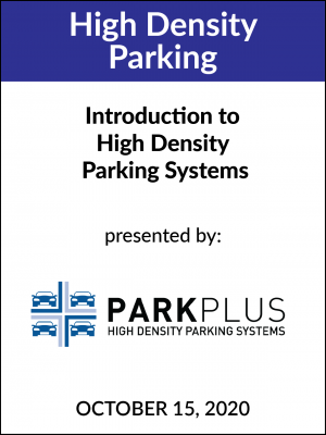 High Density Parking
